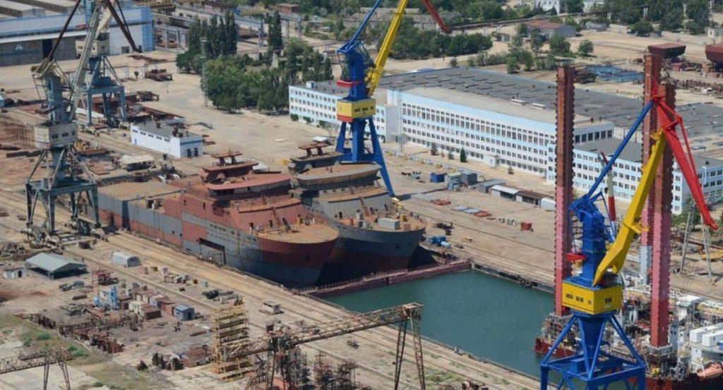 В окупованому Криму спущено на воду судно «Вятка»